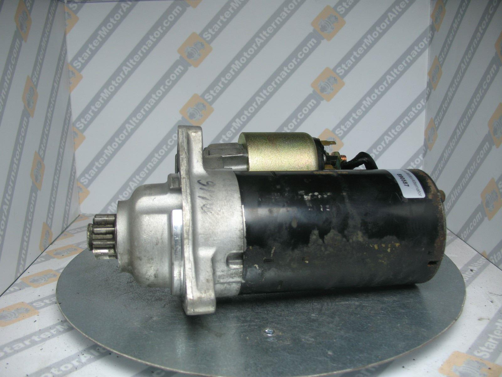 XIS1233 Starter Motor For Seat / Volkswagen