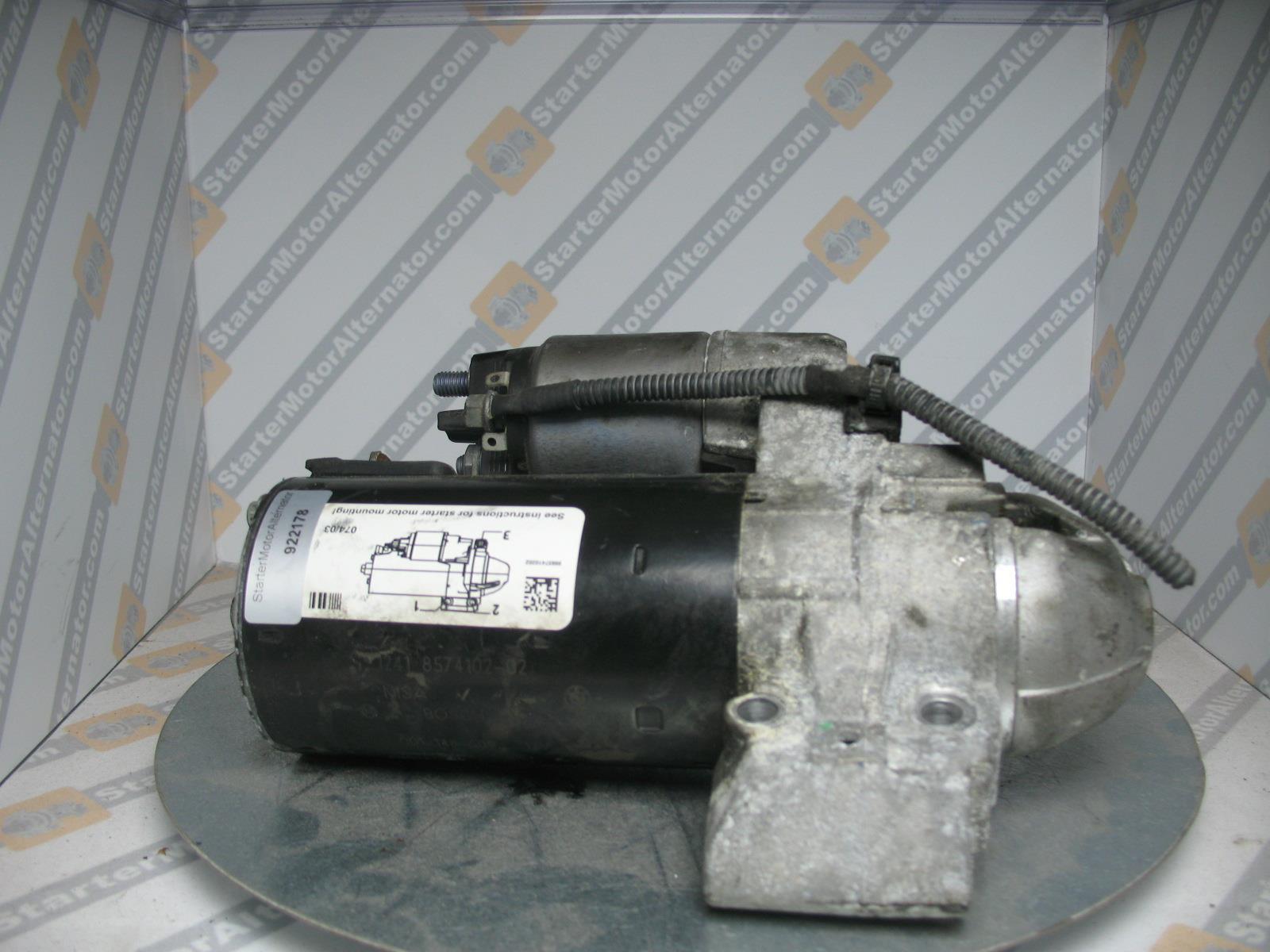 XIU1467 Starter Motor For BMW