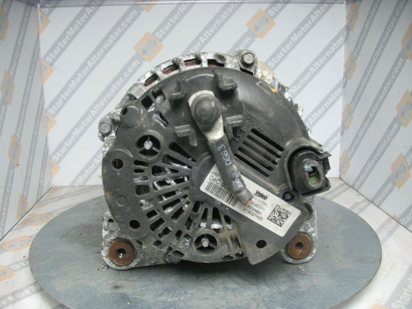 XIK3893 Alternator For Audi / Seat / Skoda / Volkswagen