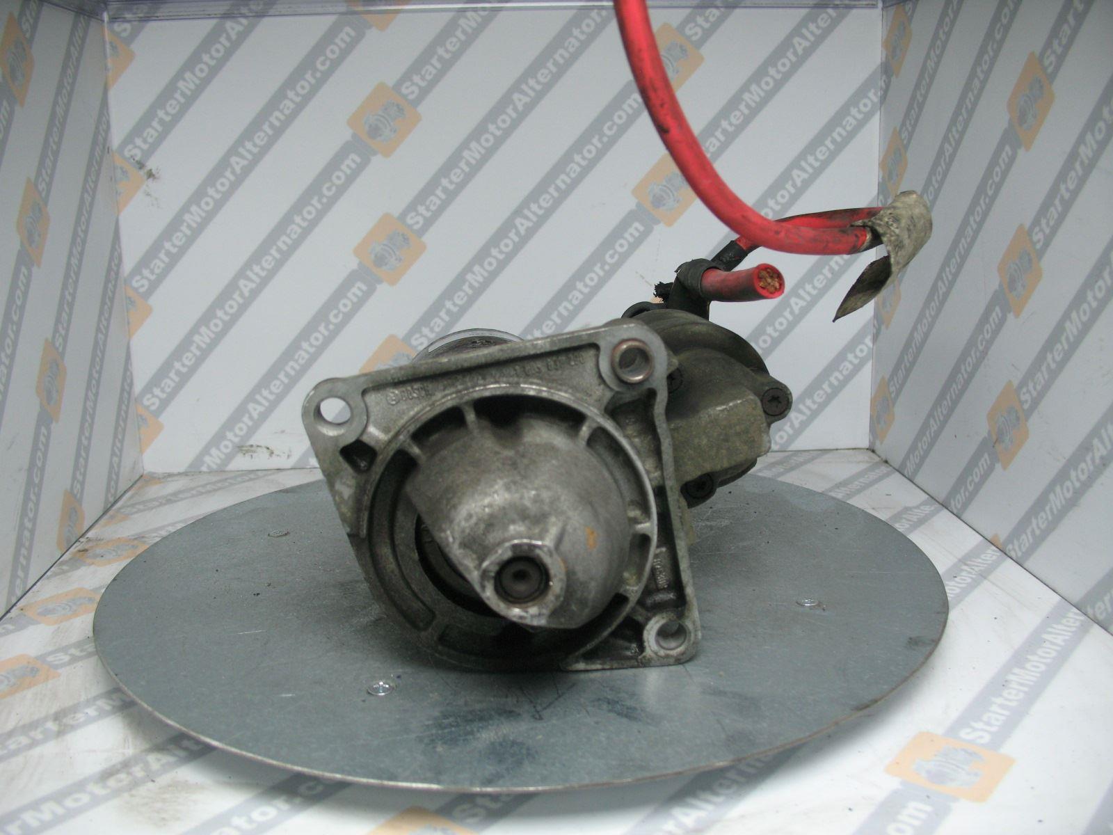 XIU1264 Starter Motor For Alfa Romeo / Chrysler / Fiat / Opel / Saab / Vauxhall