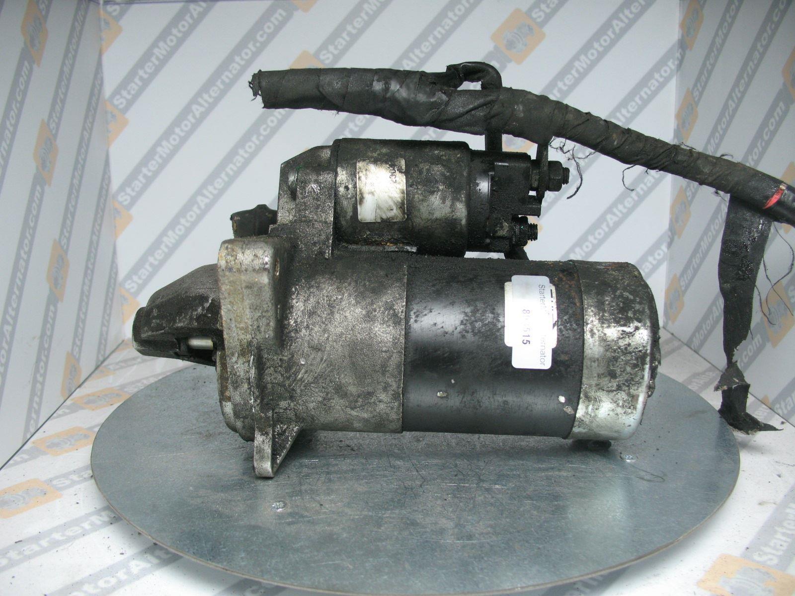 XIY2304 Starter Motor For Nissan / Opel / Renault / Vauxhall