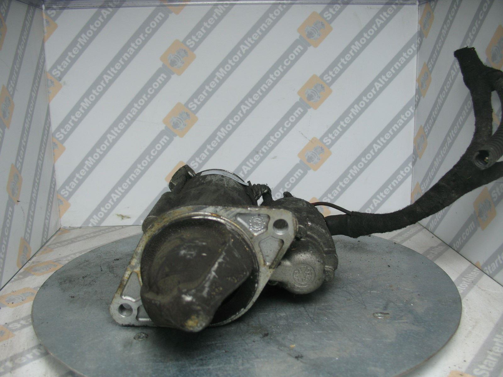 XIY2317 Starter Motor For Alfa Romeo / Chevrolet / Fiat / Opel / Saab / Vauxhall